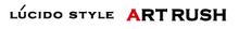 LUCIDO STYLE ARTRUSH  | ルシードスタイル アートラッシュ  のロゴ