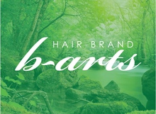 hair brand b-arts  | ヘアーブランド ビーアーツ  のロゴ