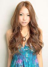 【b-arts】大人セレブ☆外国人風ウエーブ&ヘアカラー|hair brand b-artsのヘアスタイル