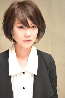 滝川クリステル風グラマラスショート☆|hair brand b-artsのヘアスタイル