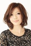 【b=arts】上品カジュアルカール☆ hair brand b-artsのヘアスタイル