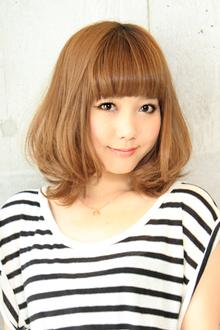 【b-arts】モテ愛されミディ|hair brand b-artsのヘアスタイル