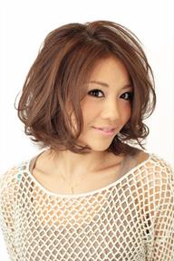【b-arts】ふんわりボブ☆リラックスウェーブ♪|hair brand b-artsのヘアスタイル