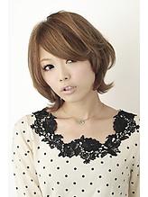 【b-arts】ベージュ3Dカラー|hair brand b-artsのヘアスタイル