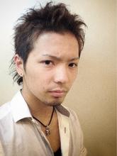 【b-arts】女子ウケNO.1! ショートウルフ&ダークアッシュ|hair brand b-artsのメンズヘアスタイル