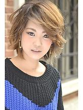 【b-arts】プラチナグラデーション|hair brand b-artsのヘアスタイル