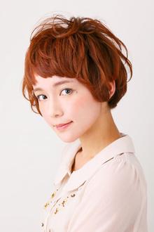 【アメ村b;Ash】ふんわり愛されショート☆|hair b:Ashのヘアスタイル