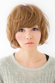 【アメ村b:Ash】柔らか無造作ボブ☆|hair b:Ashのヘアスタイル