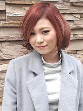 【アメ村b;Ash】ドーリィーカラー☆|hair b:Ashのヘアスタイル