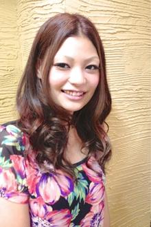 【アメ村 b:Ash】ウルツヤ美髪美人|hair b:Ashのヘアスタイル