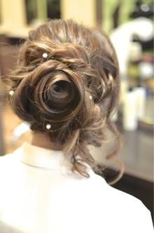 【アメ村b;Ash】一押し薔薇セット|hair b:Ashのヘアスタイル
