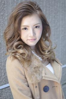 【アメ村 b:Ash】外国人風カラー☆グラデーション|hair b:Ashのヘアスタイル