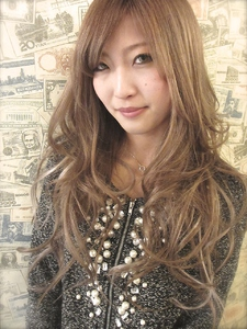 【b:ash】カフェオレブラウン☆|hair b:Ashのヘアスタイル