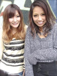 【アメ村b:Ash】最旬!グラデーションカラー☆|hair b:Ashのヘアスタイル