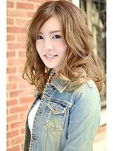 【アメ村 b:Ash】外国人風カラー hair b:Ashのヘアスタイル