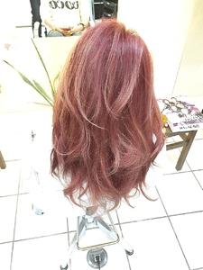 【 b:Ash】春色Ikedaiスペシャル!外国人風ビューティーピンク hair b:Ashのヘアスタイル