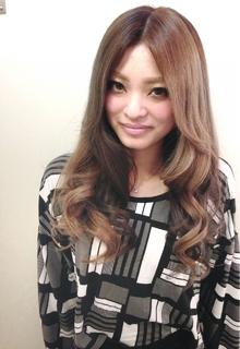 b:アッシュカラー☆ON 4セクション hair b:Ashのヘアスタイル