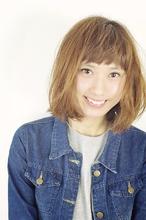 【ミディアム】 No,18|aurum hair&spa 下北沢のヘアスタイル