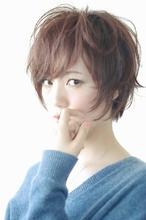 【ショート】 No,13|aurum hair&spa 下北沢のヘアスタイル