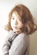 【ミディアム】 No,17|aurum hair&spa 下北沢のヘアスタイル