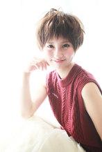 たまには甘い☆外国人ショート|Beauty&Spa MARIEN BETHのヘアスタイル