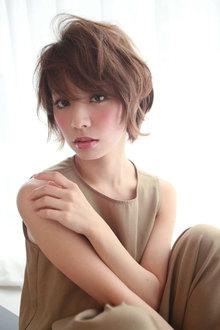 グッとくる♪ときめきショート|Beauty&Spa MARIEN BETHのヘアスタイル