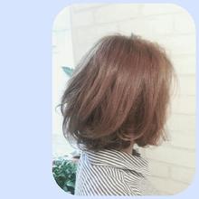 ふんわりボブ|aura hair maisonのヘアスタイル