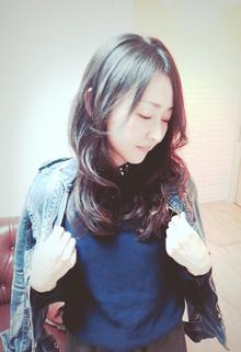 ふんわりカール|aura hair maisonのヘアスタイル