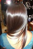 ツヤ髪ストレート|HAIR REALIZE -SAKUMA-のヘアスタイル
