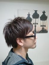 美髪★お客様メンズスタイル|Lbaccia 渋谷宮益坂店のメンズヘアスタイル
