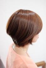 ボブスタイルから少し軽めのグラデーションに☆|atelier cocoaのヘアスタイル