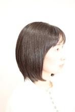 後頭部の丸みに合わせてカットしておりますので、寝癖などの心配はありません(*^^)v|atelier cocoaのヘアスタイル
