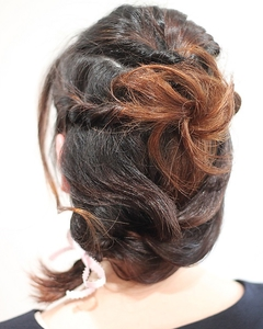 結婚式のお呼ばれに!|atelier cocoa  のヘアスタイル
