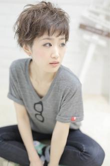 ★sCene★ JiLLショート|sCene northのヘアスタイル