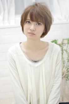 ☆sCene☆ soft perm ショート|sCene northのヘアスタイル
