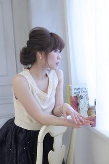 ☆sCene☆ クラシカルルーズアップ|sCene northのヘアスタイル