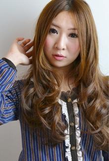 ☆sCene☆大人髪ロングウェーブ|sCene northのヘアスタイル