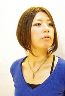 ☆sCene☆タイトボブ|sCene northのヘアスタイル