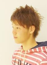 ☆sCene☆アシメ・2ブロック|sCene northのメンズヘアスタイル