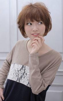 ☆sCene☆〜Sweet short〜|sCene northのヘアスタイル