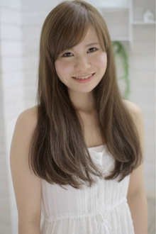 ☆sCene☆〜AshBeige Long〜|sCene northのヘアスタイル