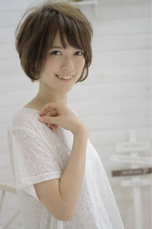 ☆sCene☆〜Pure short|sCene northのヘアスタイル