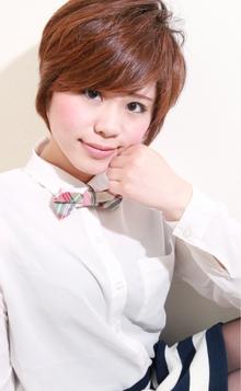☆sCene☆〜grow up short〜|sCene northのヘアスタイル