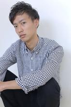 ☆sCene☆ショート清潔感ショート|sCene ESTのメンズヘアスタイル