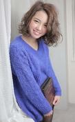 ☆sCene☆ウェービーボブ|sCene ESTのヘアスタイル