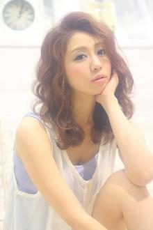 ☆sCene☆シャインウェーブ|sCene ESTのヘアスタイル