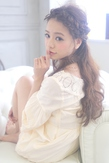 ★sCene★ 編み込み Mix ハーフUP|sCene ESTのヘアスタイル