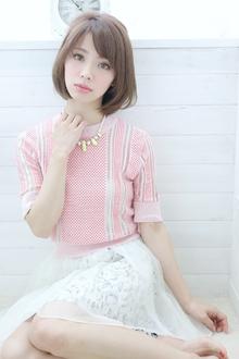 ☆sCene☆ feminine BOB|sCene ESTのヘアスタイル