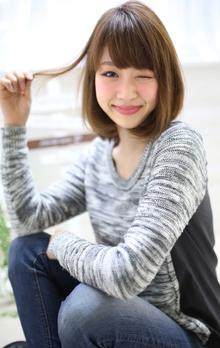 ☆sCene☆ナチュラルボブ|sCene ESTのヘアスタイル