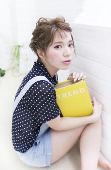 ★sCene★ Twin編み込みArrenge|sCene ESTのヘアスタイル